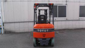 トヨタ TOYOTA 中古フォークリフト forklift バッテリー 2016年式 3Mマスト