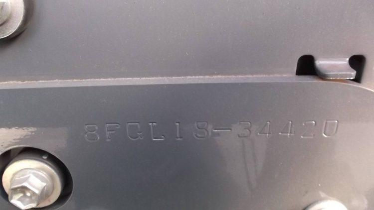 トヨタ Toyota 中古フォークリフト forklift ガソリン 2013年式 サイドシフト 3Mマスト