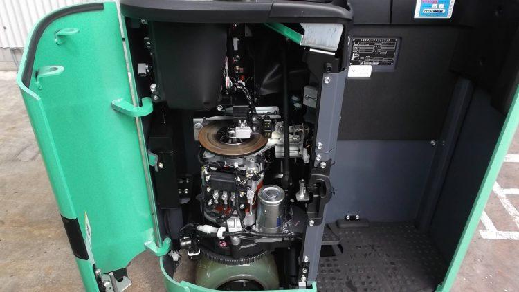 トヨタ Toyota 中古フォークリフト forklift バッテリーリーチ 2018年式 3段フルフリー5.5Mマスト