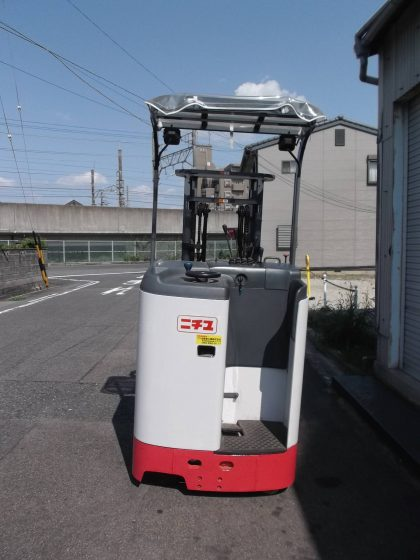 ニチユ NICHIYU 中古フォークリフト forklift バッテリーリーチ 2013年式 サイドシフト 3m