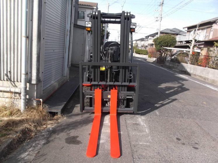 ニチユ NCHIYU 中古フォークリフト forklift バッテリーカウンター 3段フルフリー4.3Mマスト サイドシフト