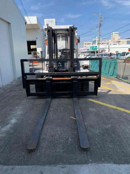 フジ自動車 ユニキャリア FD70-3 ディーゼルカウンター フォークリフト  folklift used 愛知 名古屋