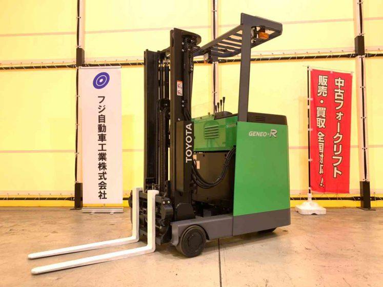 トヨタ 7FBR10 中古フォークリフト toyota used forklift HITACHI battery