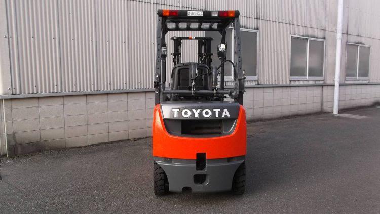 トヨタ TOYOTA 中古フォークリフト forklift ガソリン&LPG併用 2016年式 フォークポジショナー2本レバー式 3mマスト
