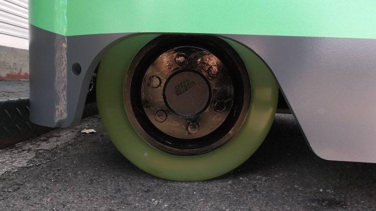 トヨタ Toyota 中古フォークリフト forklift バッテリーリーチ 2019年式 3段フルフリー5.5Mマスト