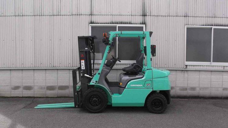 三菱 MITUBISHI 中古フォークリフト forldift ガソリン 27年式 3M