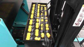 スミトモ 61FBR09SXⅡ バッテリーリーチ フォークリフト reach forklift used sumitomo yuasabattery