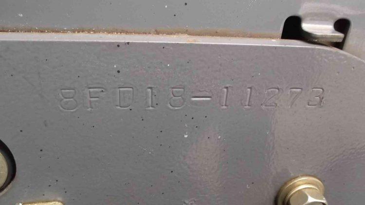トヨタ 8FD15 ディーゼルカウンター フォークリフト forklift used toyota