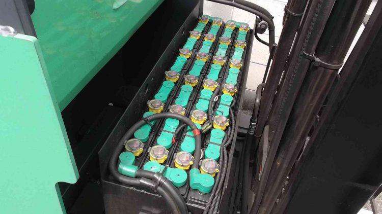 トヨタ 7FBR10 バッテリーリーチ 中古フォークリフト toyota reach forklift used hitashibatttery