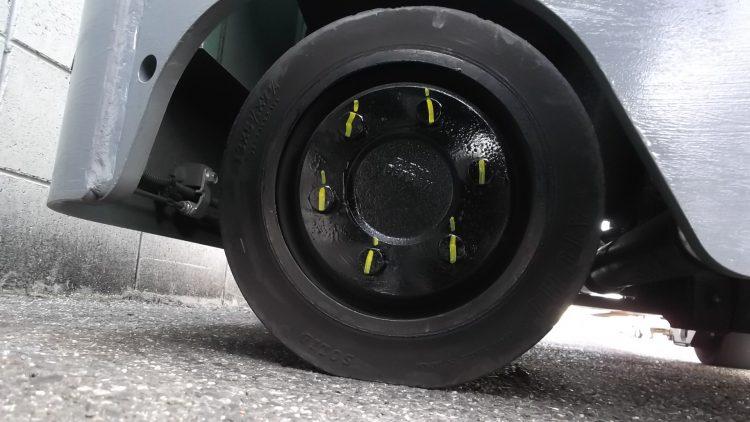 トヨタ 7FBRK10 リーチ フォークリフト reach forklift used toyota hitachi battery