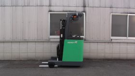 トヨタ 7FBRK10 リーチ フォークリフト reach forklift used toyota hitachi battery