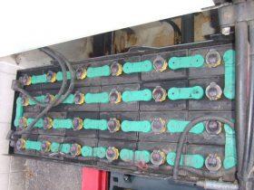 ニチユ NICHIYU 中古フォークリフト forklift バッテリーリーチ 2006年式 3段フルフリーマスト 5.5Mマスト