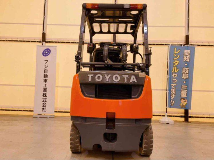 中古フォークリフト トヨタ ガソリン・LP併用 used forklift toyota  02-8FG15